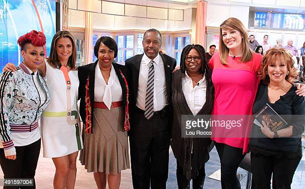THE VIEW Republican presidential candidate Dr Ben Carson is the guest today October 6 2015 on Walt Disney Television via Getty Images's The View The...