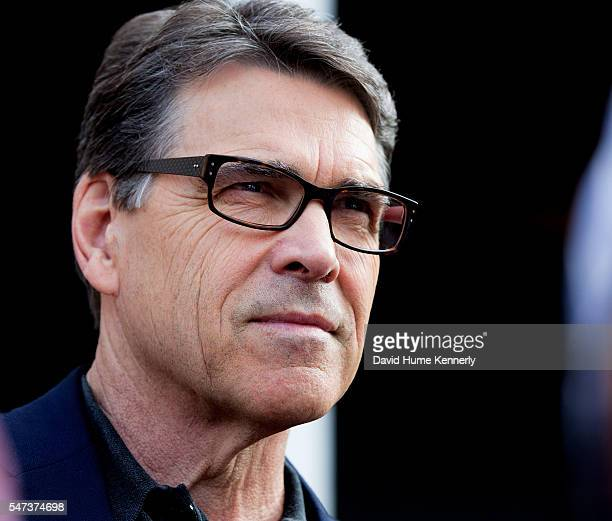 Republican Presidential Candidate Gov. Rick Perry of Texas speaks at a private home at the start of his Presidential election campaign, in Derry, New...