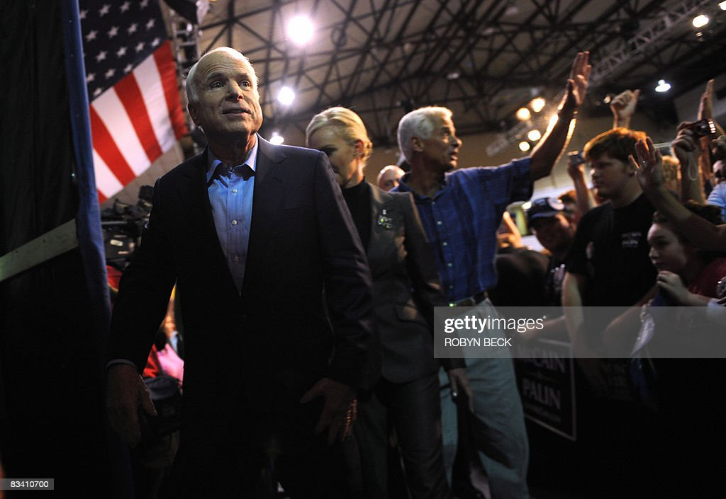 Republican presidential candidate John M : News Photo