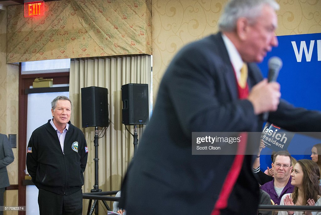 John Kasich Campaigns In Milwaukee Area