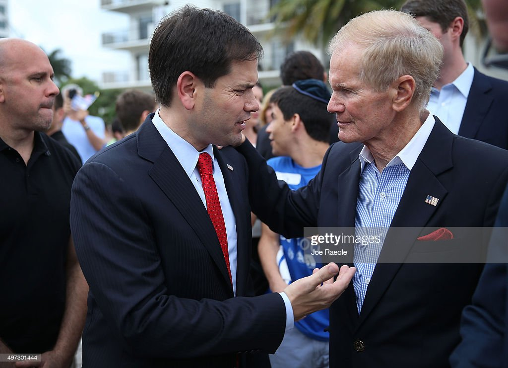 Republican Presidential Candidate Sen. Marco Rubio  Addresses The Greater Miami Jewish Federation's Pro-Israel Rally