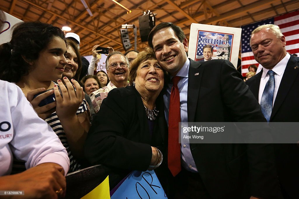 Marco Rubio Holds Florida Kick Off Rally On Super Tuesday