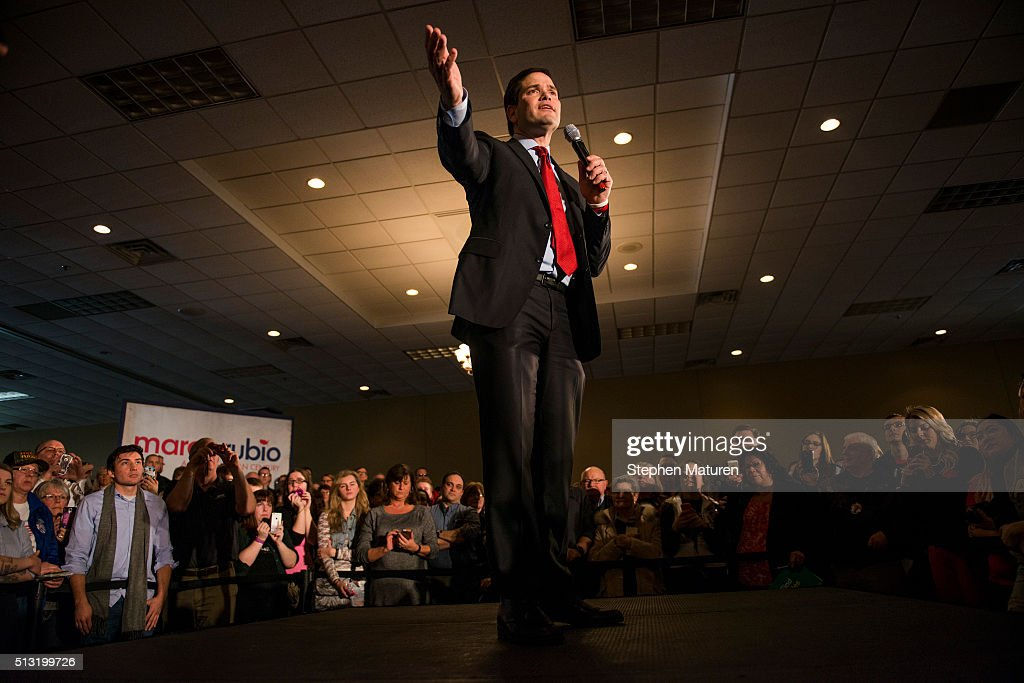 Marco Rubio Holds Super Tuesday Campaign Rally In Minnesota