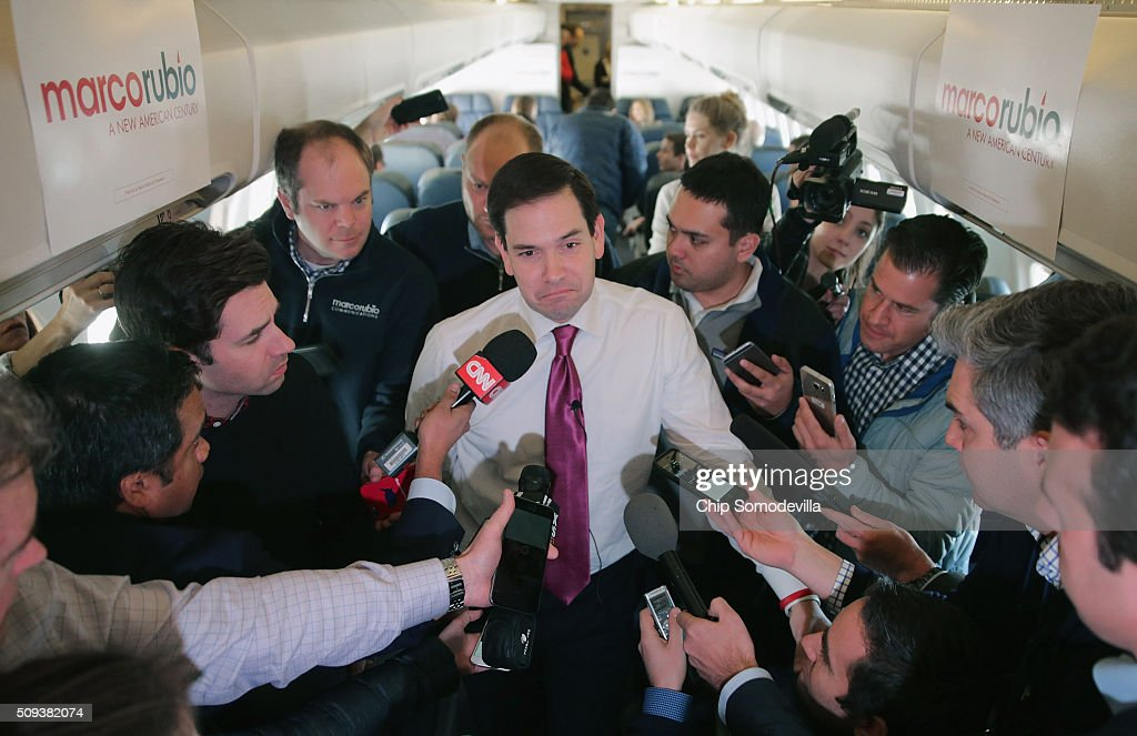 GOP Presidential Candidate Sen. Marco Rubio  Campaigns In South Carolina