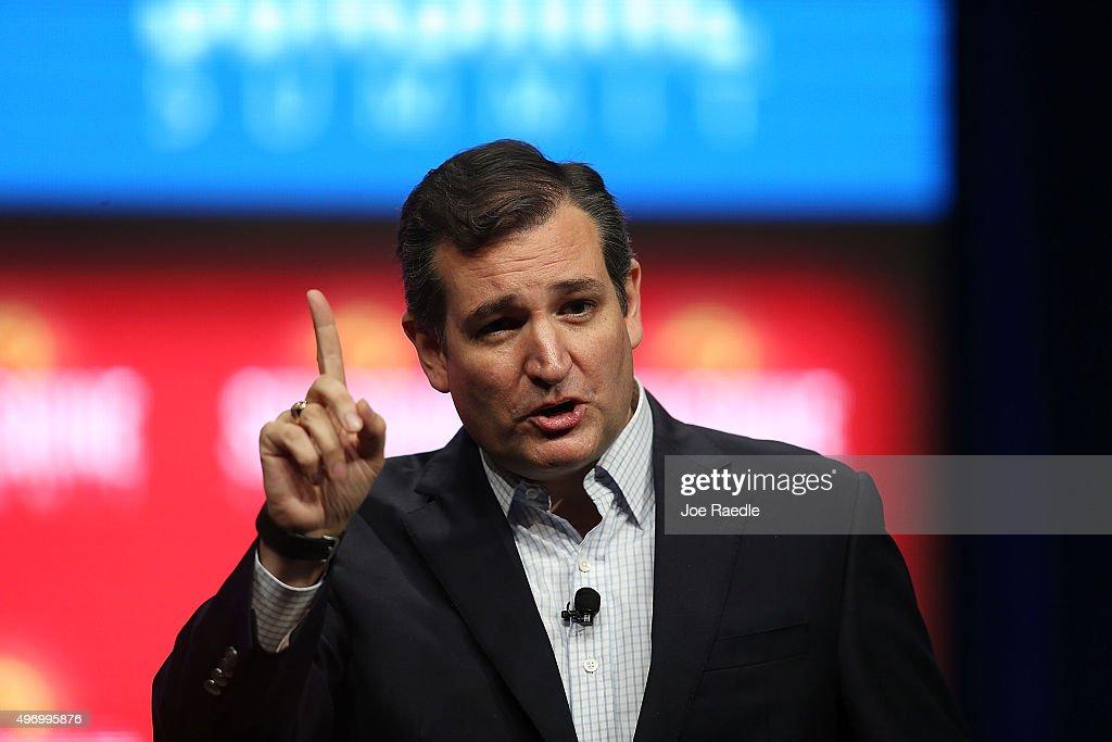 Republican Candidates Speak At Sunshine Summit In Orlando : News Photo