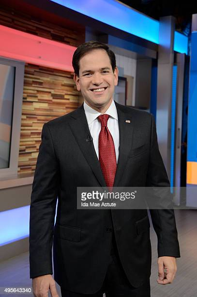 AMERICA Republican presidential candidate Senator Marco Rubio discusses issues on GOOD MORNING AMERICA 11/4/15 airing on the ABC Television Network...