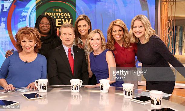 THE VIEW Republican presidential candidate Senator Rand Paul and his wife Kelley Paul sit down with The View cohosts to discuss his campaign today...