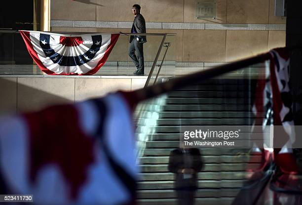 Republican Presidential candidate Ted Cruz held a Pennsylvania Kickoff Event in Philadelphia, Pennsylvania on Tuesday, April 19, 2016. Reflections of...