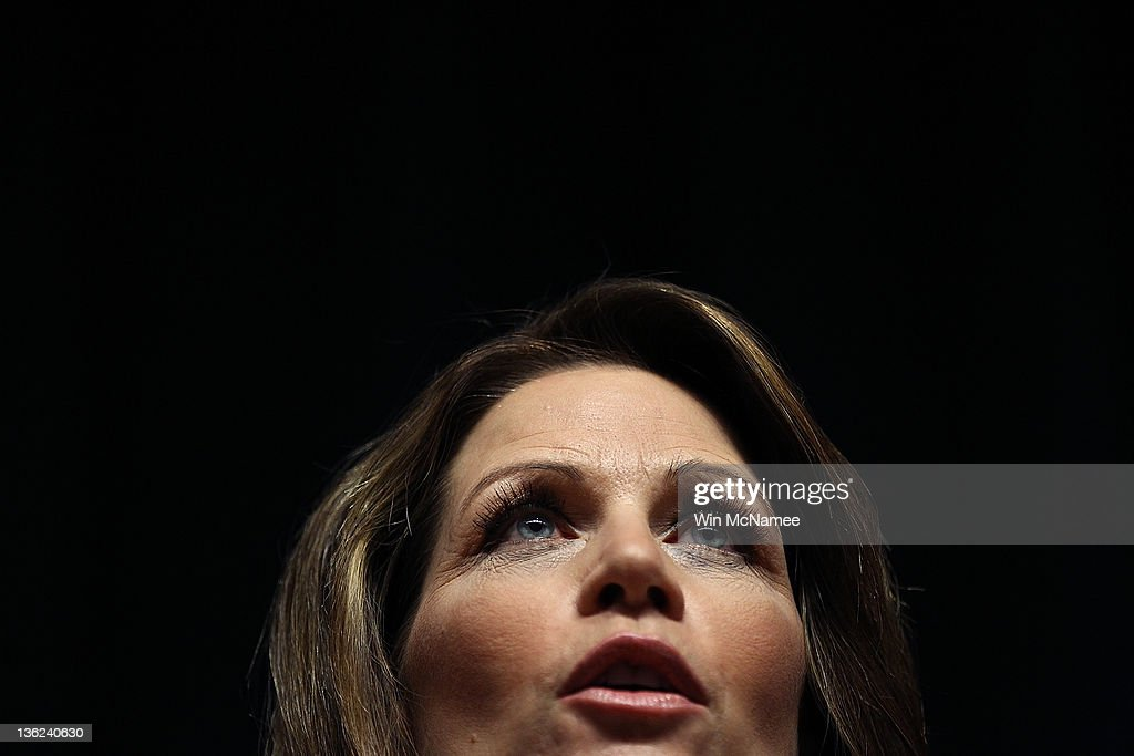 Michele Bachmann Campaigns In Iowa Ahead Of Caucuses