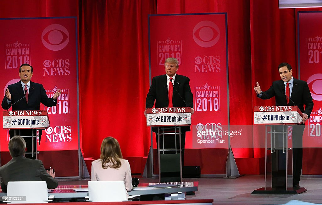 Republican Presidential Candidates Debate In Greenville, South Carolina