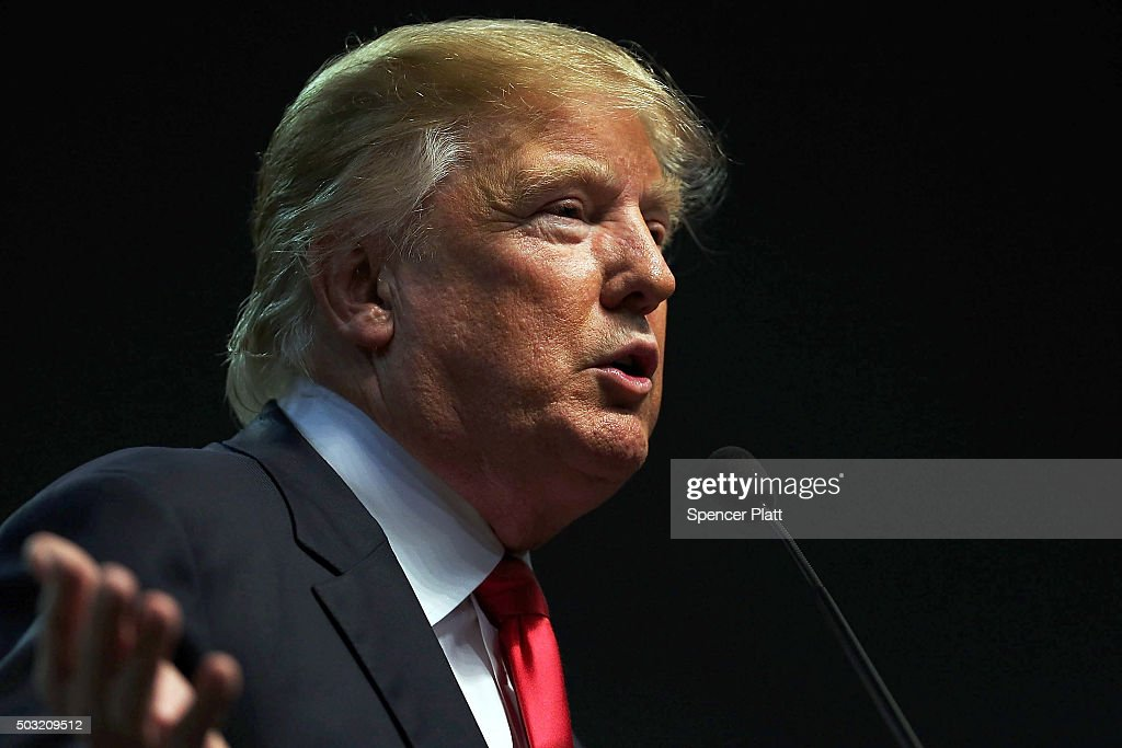 Donald Trump Holds Rally In Biloxi, Mississippi : News Photo