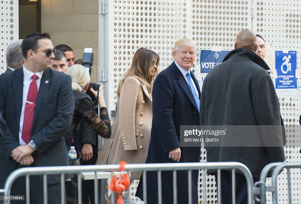 US-VOTE-REPUBLICANS-TRUMP : News Photo