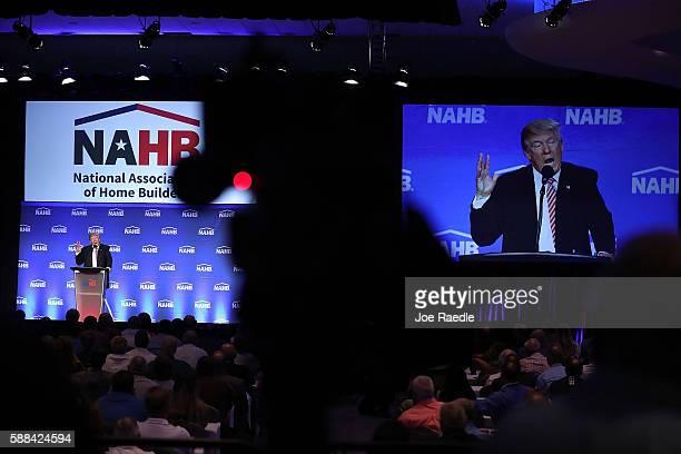 20 Donald Trump Addresses The National Association Of Home
