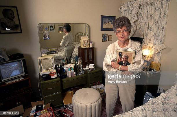 Republican presidential nominee Newt Gingrich's mother Kathleen 'Kit' Gingrich is photographed for People Magazine in 1995 in Marietta Georgia