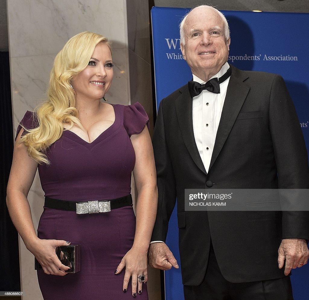 What Size Is Meghan Mccain: US Republican Senator From Arizona John McCain And