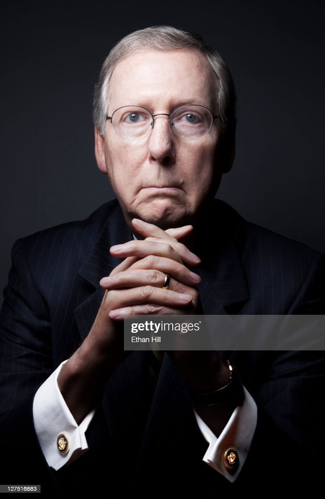 Mitch McConnell, Time Magazine, June 4, 2011 : News Photo