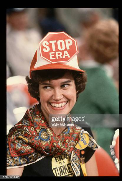 republican woman against the era - republican national convention stock pictures, royalty-free photos & images