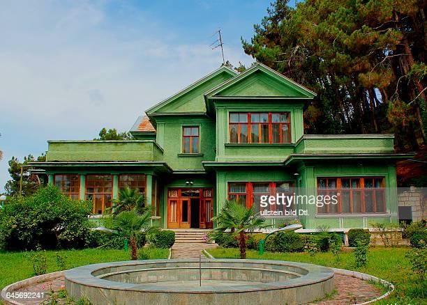 Republik Abchasien Ort Cholodnaja Retschka Datsche Stalins am Ufer des Schwarzen Meeres 12 km von der Stadt Gagra entfernt errichtet in den 1930er...