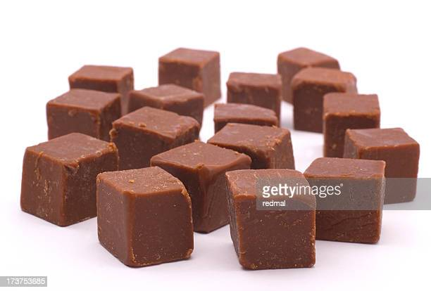 request chocolate fudge - fudge stock pictures, royalty-free photos & images