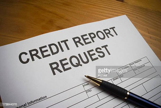 Request for a Credit Report