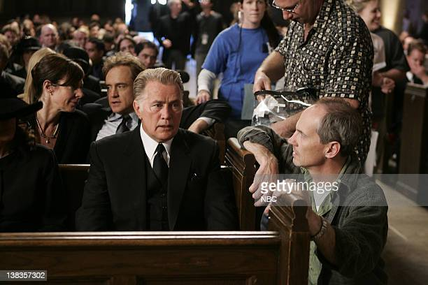 WING Requiem Episode 18 Aired Pictured Martin Sheen as President Josiah Jed' Bartlet