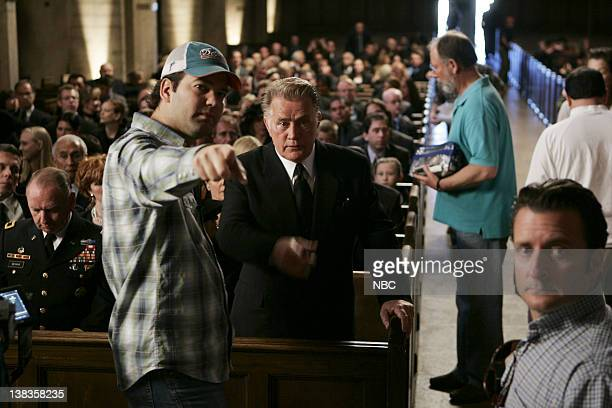 WING Requiem Episode 18 Aired Pictured Martin Sheen as President Josiah Jed Bartlet