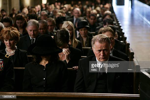 WING Requiem Episode 18 Aired Pictured Stockard Channing as Abbey Bartlet Martin Sheen as President Josiah Jed Bartlet