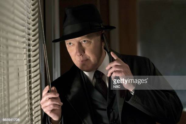 THE BLACKLIST 'Requiem' Episode 417 Pictured James Spader as Raymond 'Red' Reddington