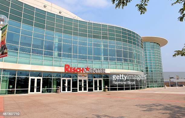 Resch Center home of the University of WisconsinGreen Bay Phoenix men's basketball team on August 31 2015 in Green Bay Wisconsin