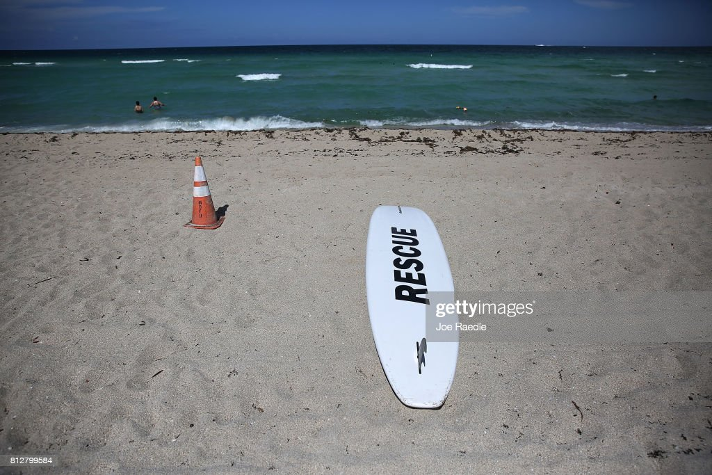 Sunny Isles Beach Is Site Of Rare Miami-Dade Shark Attack : News Photo