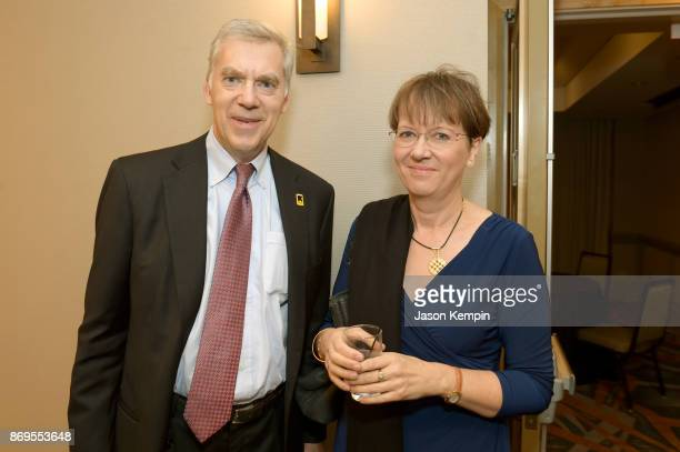 Rescue Dinner CoChair Tracy Wolstencroft and Louise Shackelton attend The 2017 Rescue Dinner hosted by IRC at New York Hilton Midtown on November 2...