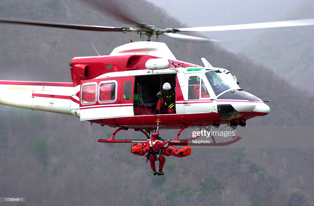 Rescue Helicopter II : Stock Photo