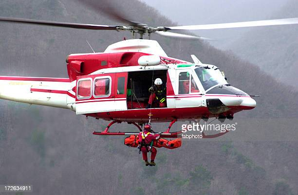 rescue helicopter ii - rescue worker stock pictures, royalty-free photos & images