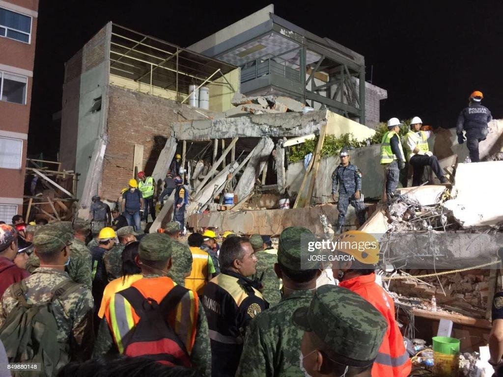 MEXICO-QUAKE : News Photo