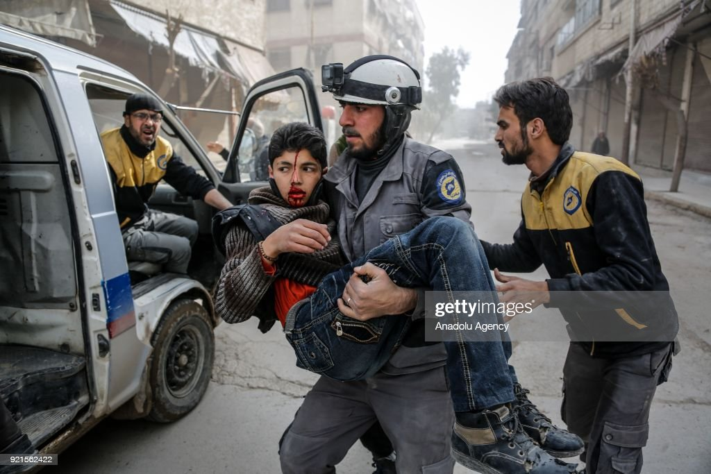 The Assad Regime's Destruction Of Eastern Ghoutha