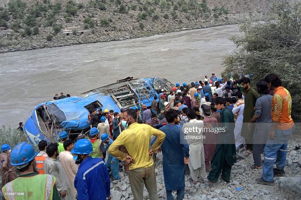 TOPSHOT-PAKISTAN-CHINA-BLAST : News Photo