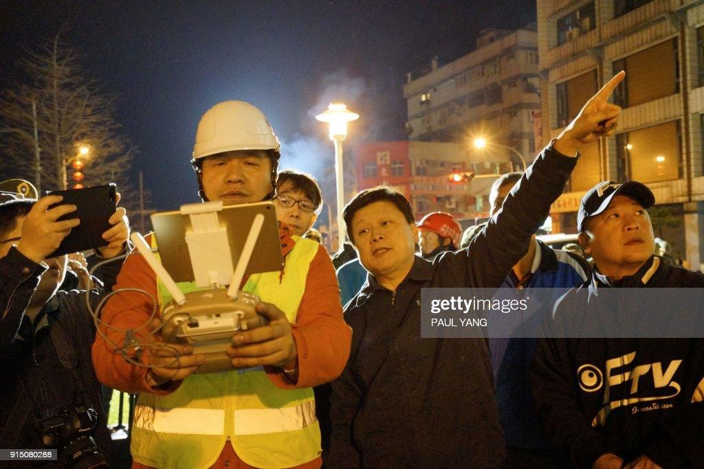 TAIWAN-QUAKE : News Photo