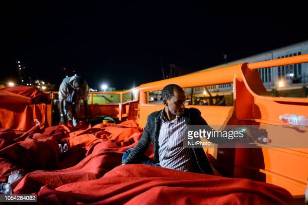 120 rescued migrants staying onboard the Spanish vessel as no place has been found to host them Malaga