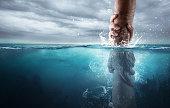 Rescued under water