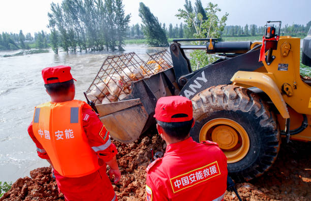 CHN: Rescue Works In Flood-Hit Henan