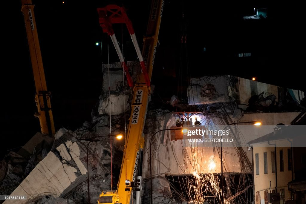 ITALY-ACCIDENT : News Photo