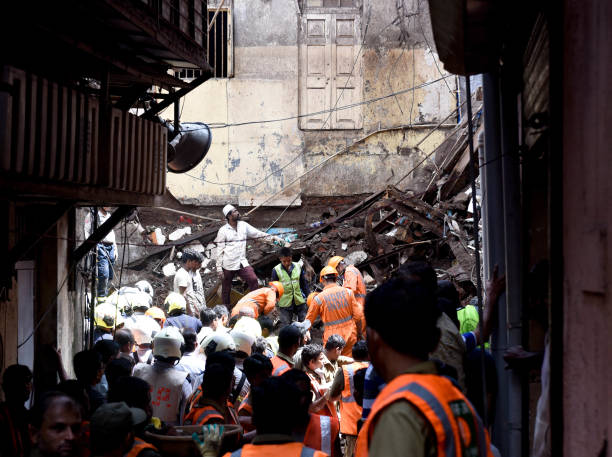 IND: Building Collapse And Apathy Of Authorities Kill 10 In Dongri