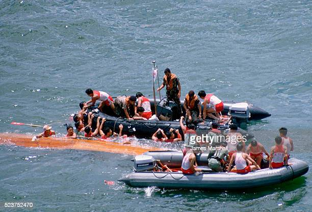 Rescuing Chinese Dragon Boat Team