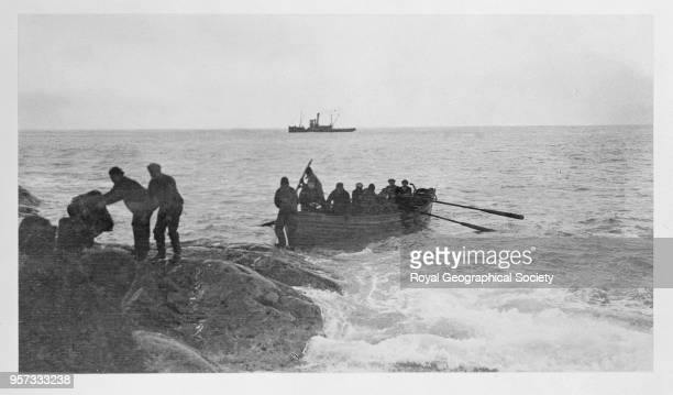 Rescuing the crew from Elephant Island Imperial TransAntarctic Expedition 19141916