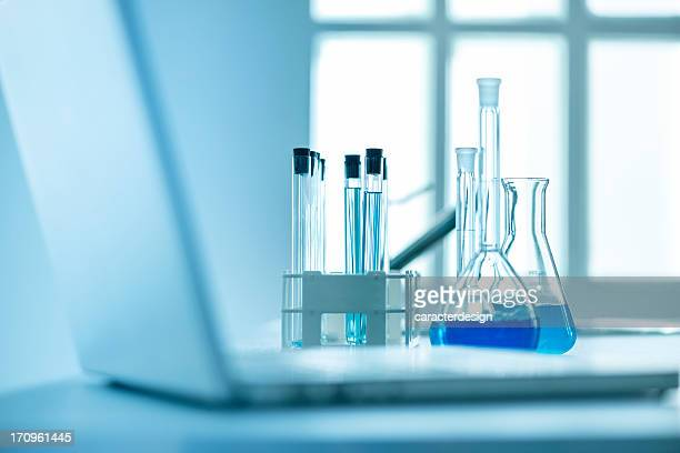 Research in modern laboratory