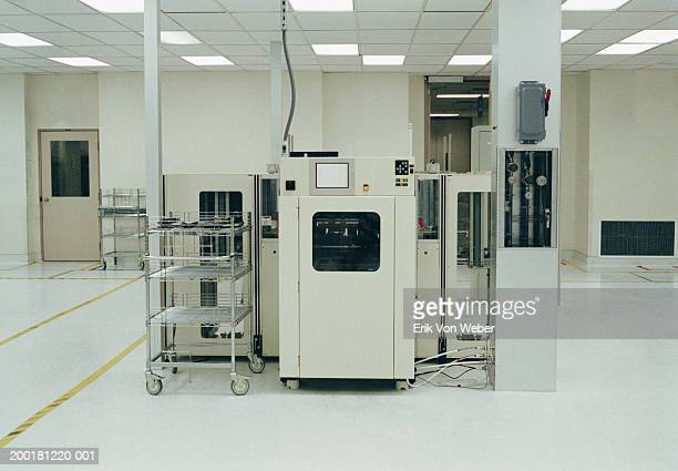 Research laboratory controls and machinery