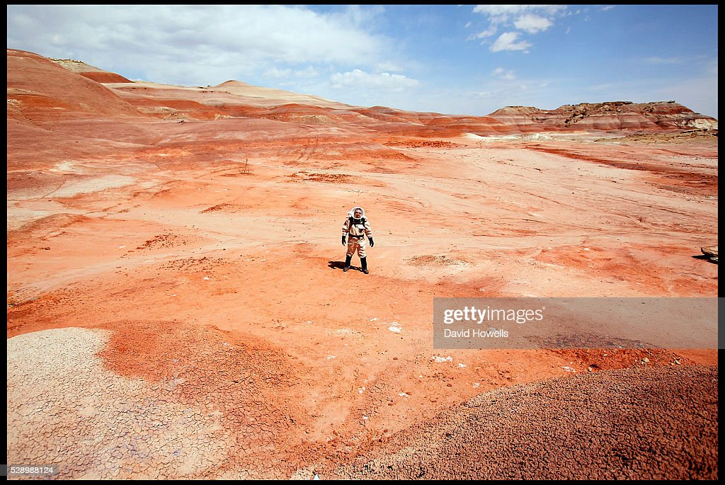 USA - Mars Research - Mars Society Desert Research Station : News Photo