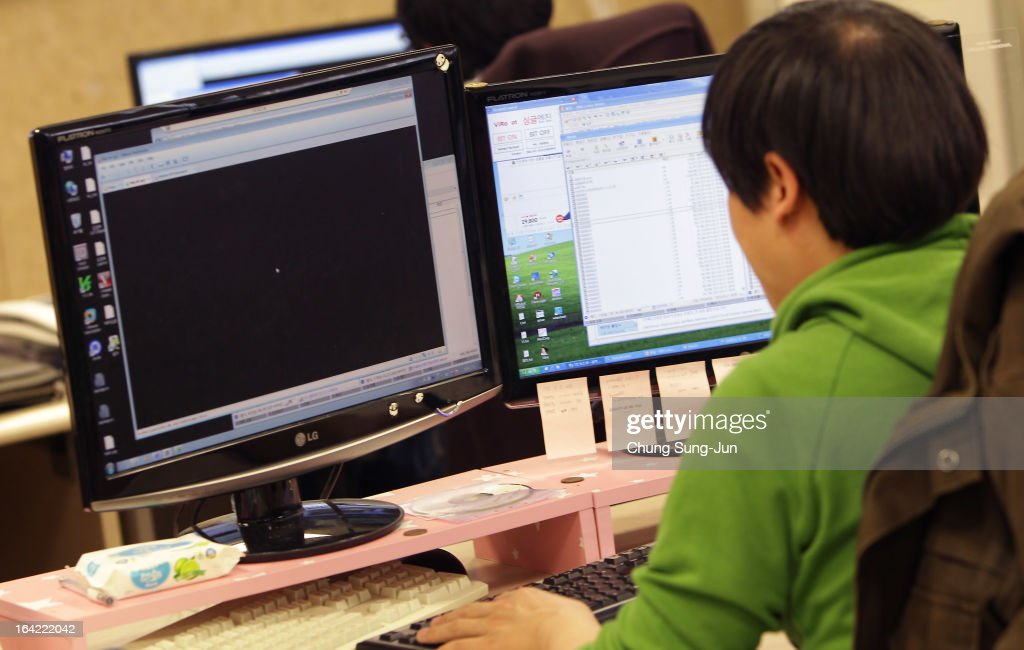 Cyber Attack On South Korea Traced To China : News Photo
