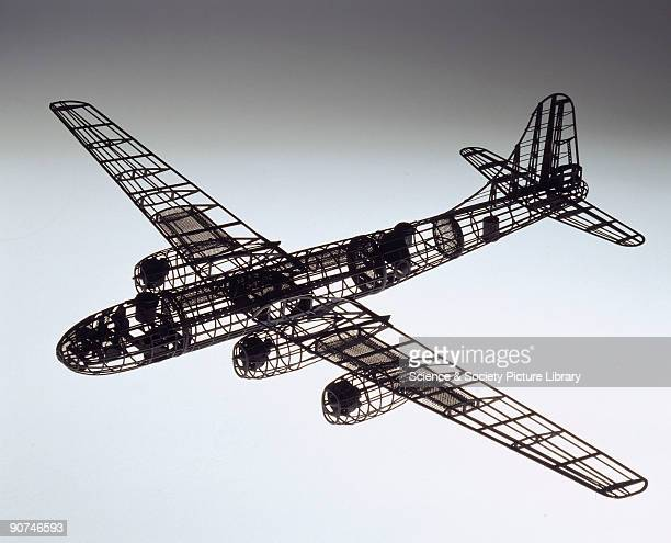 Researchers at the Royal Aircraft Establishment in Farnborough, Hampshire, illuminated this model with a beam of light to find angles at which they...