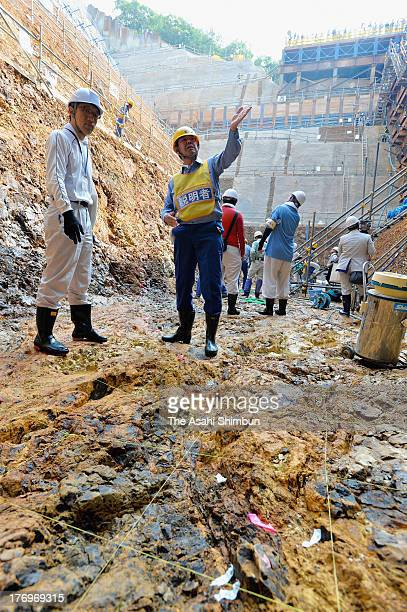 Researchers of Nuclear Regulation Authority investigate 'F6' fault at Kansai Electric Power Co Oi Nuclear Power Plant on July 27 2013 in Oi Fukui...